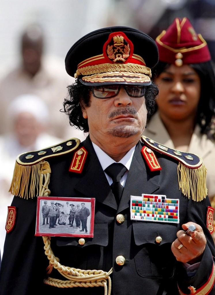 Libyan dictator responsible for countless tragedies is pronounced dead