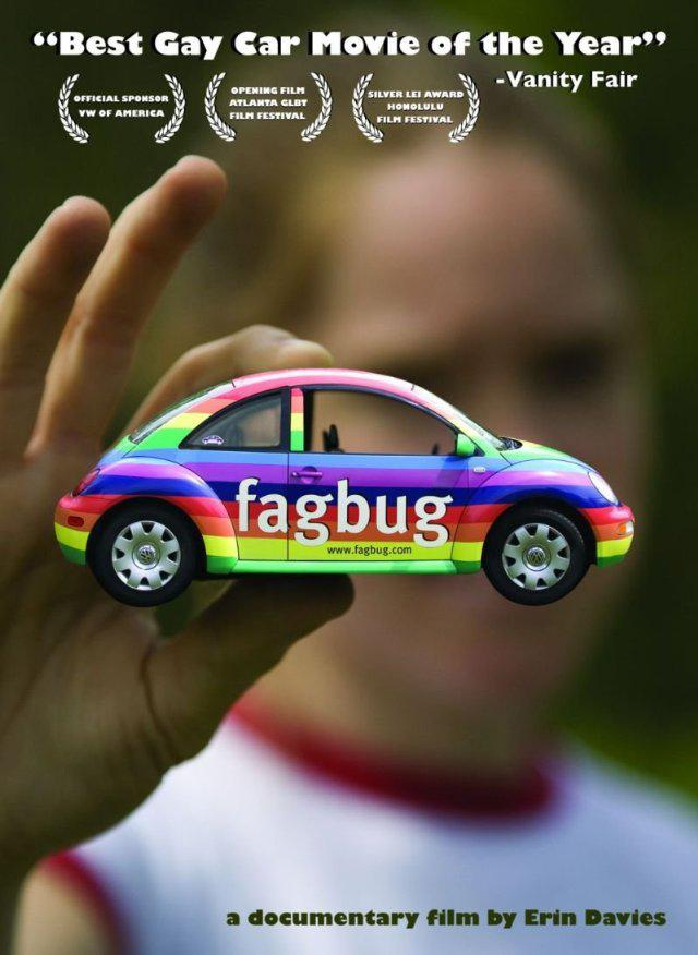 "A poster for the documentary ""Fagbug."" (Courtesy of IMDB)"