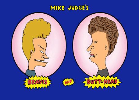 Beavis and Butthead courtesy MTV