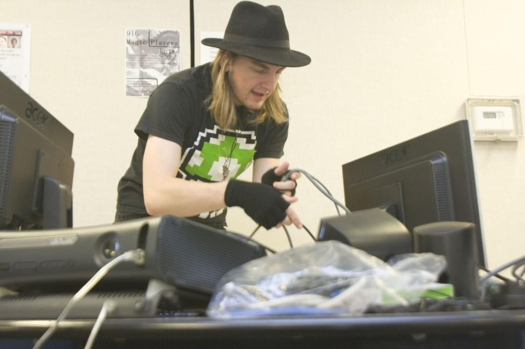 ARC students host LAN parties on campus for between-class stress relief