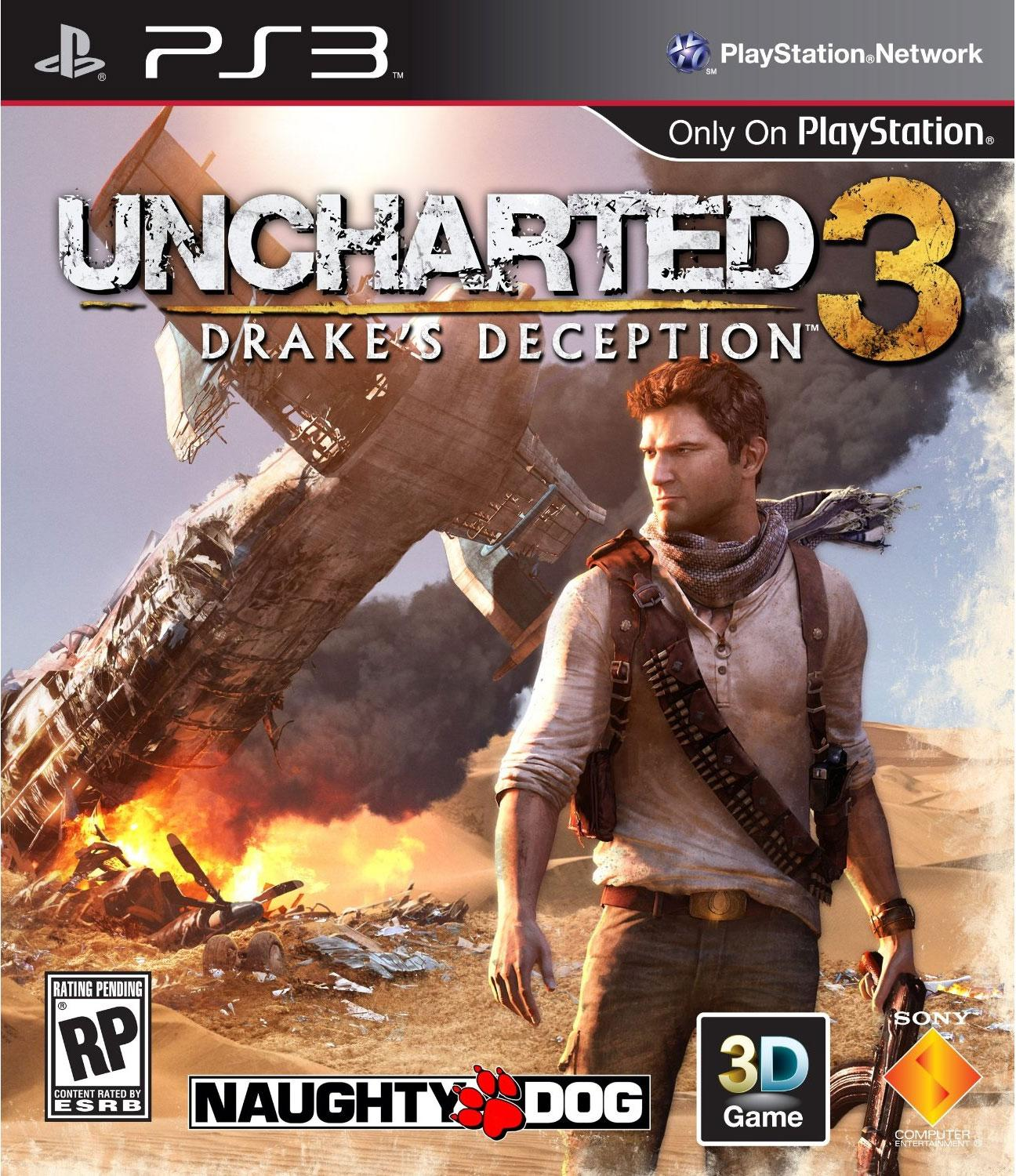 Uncharted 3 cover Courtesy Naughty dog