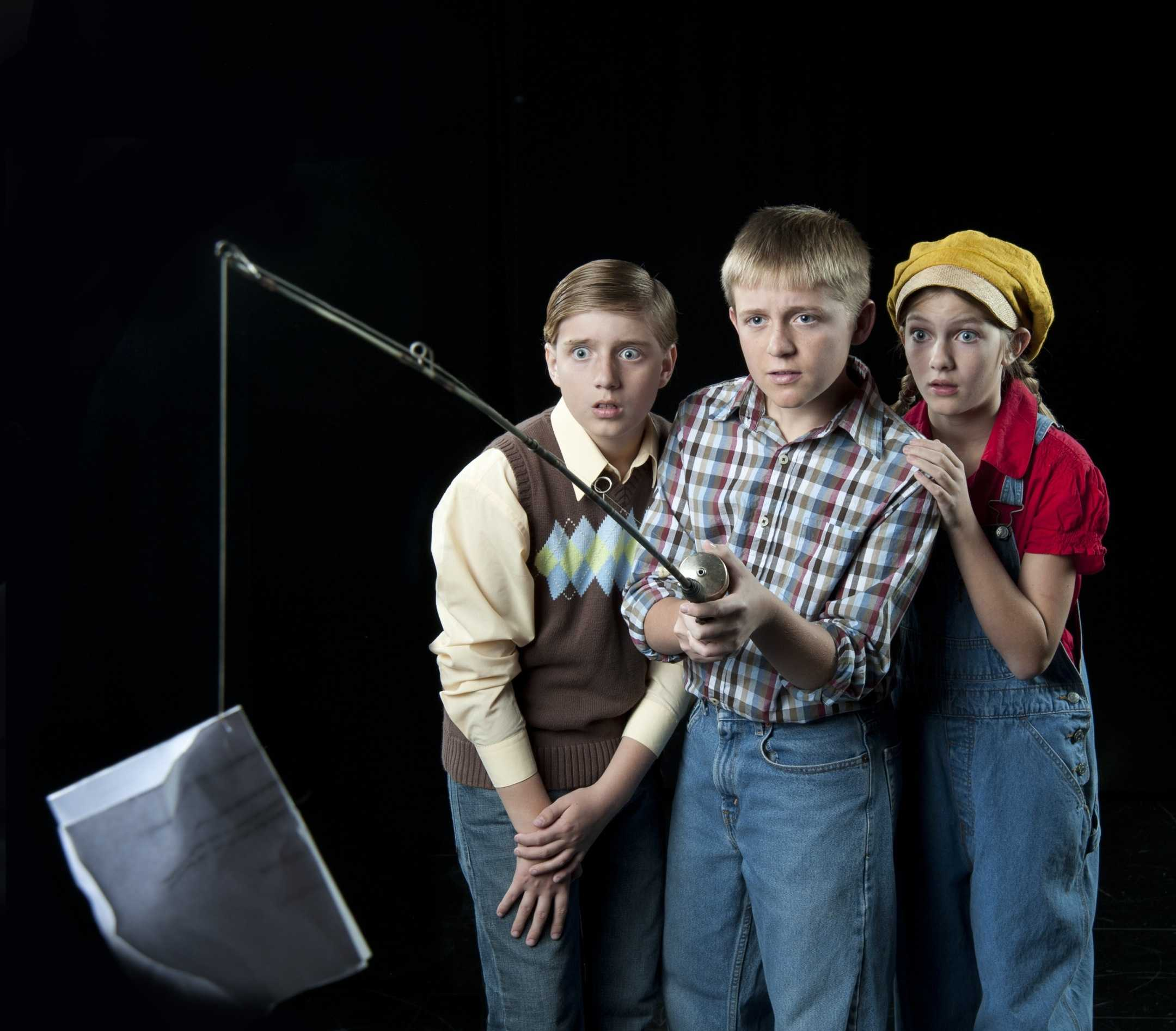 "From left to right, Brett Young, Jake Young and Emily Botnen in ARC's ""To Kill a Mockingbird."" (Photo courtesy of ARC Box Office)"