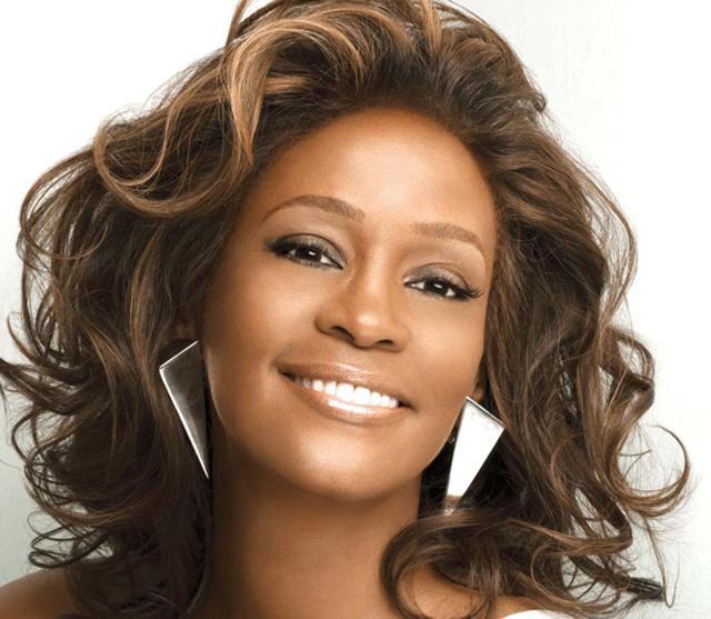 The late pop princess Whitney Houston.