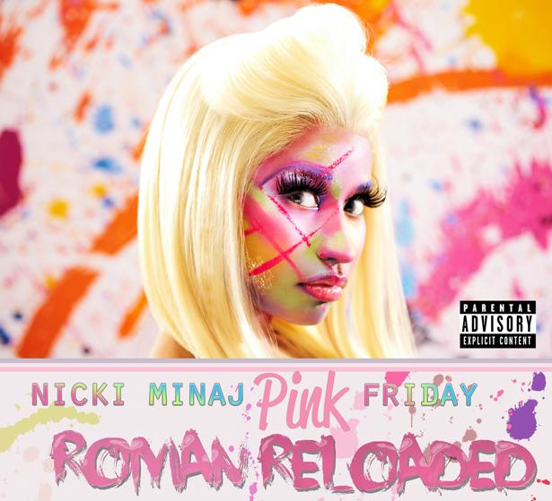 "Minaj's second album ""Pink Friday: Roman Reloaded."""