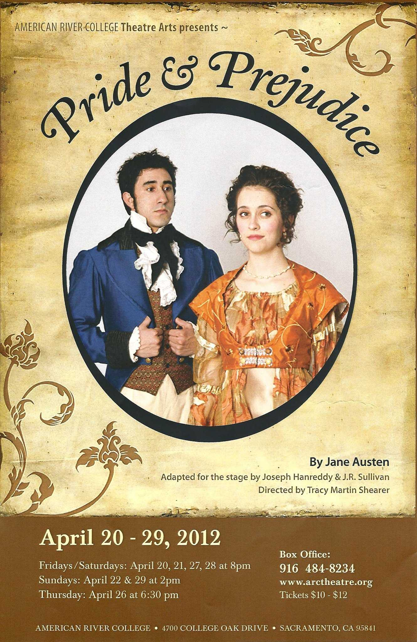 pride and prejudice flyer