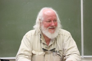 Professor Stockdale, the instructor of a Public Speech class at ARC.