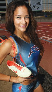 Hannah Hardy was named the 2013 Most Valuable Field Athlete in the Big 8. This season Hardy won the NorCal Heptathlon with 4,146 points and she broke the record in the triple jump by jumping 11.51-meters, a record that stood for 21 years.