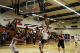 ARC guard Marcelas Perry scores a layup during Tuesday night's victory over Santa Rose Junior College.