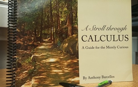 """Math professor Anthony Barcellos speaks about his newest book """"A Stroll Through Calculus"""""""