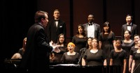 Professor Hughes conducts the Concert Choir, which are considered to be among the finest community college choirs in Northern California.