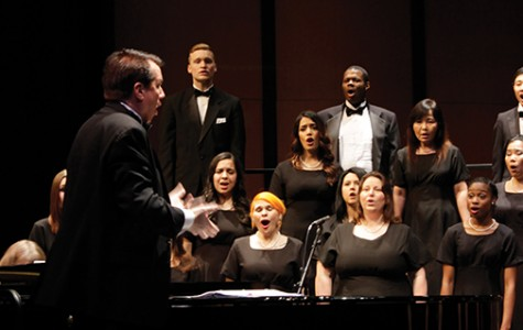 Choral Choirs performed at the Spring Invitational Concert here at American River College