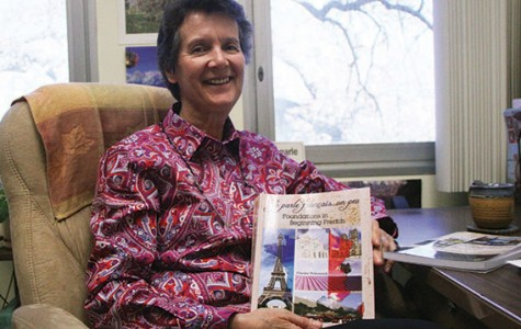 ARC French professor wrote her own textbook