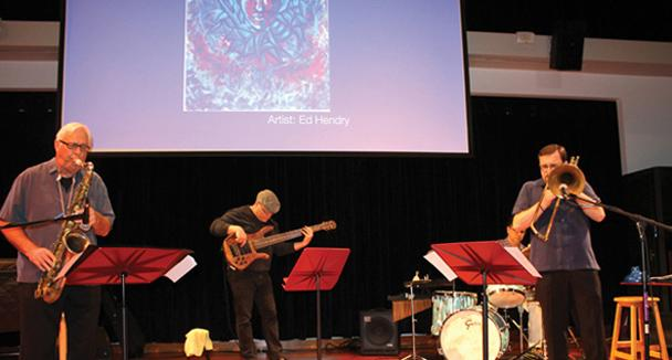 American River College holds a jazz recital put together by music professor, Dyne Eifersten, and included jazz recitals and showcased art made by faculty and students.