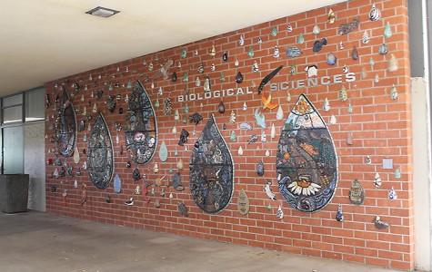 """Rain Dance"" mural to be dedicated in the science hall next week"