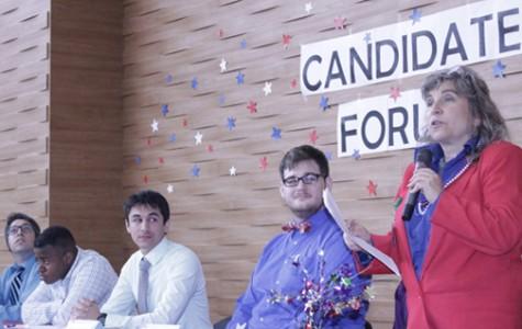 ASB candidates challenge school policies at forum
