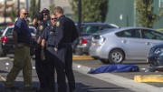 A photo taken by the staff of the Sac City Express, the student newspaper at Sacramento City College, shows the aftermath of the fatal shooting on the campus this afternoon. (Courtesy of Sac City Express)