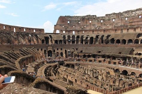The Colosseum in Rome, Italy is one of many landmarks in the country that students get the opportunity to visit in the study abroad course HIST 399: Italian History and Culture.