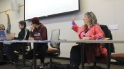 Campus safety was a major topic at Tuesday's CAEB meeting. (Photo by Robert Hansen)
