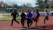 American River College's men's track and field team aims for its sixth straight conference championship. (Photo by Kyle Elsasser)