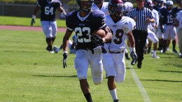 Former ARC RB Devontae Booker is considered to be one of the top backs in this year's draft, and CBS Sports projects him to be a late 2nd-early 3rd round pick. (File Photo)