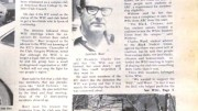 """The Beavers, ARC's student newspaper in the 80s, confirms in a story written by Jack Keaton that the White Student Union club, which was ran by Gregory Withrow had eliminated from ARC campus on Jan. 6, 1981. Withrow's name was on letters left in cars in a neighborhood in downtown Sacramento on May 3, 2016 that called for people to """"execute all Muslims and Latinos."""" (Photo by Itzin Alpizar)"""