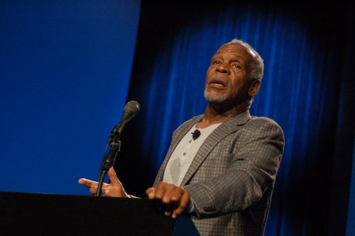 Actor Danny Glover speaks during his keynote speech at the National Conference on Race and Ethnicity in Higher Education in San Francisco on June 3, 2016. (Photo by Hannah Darden)