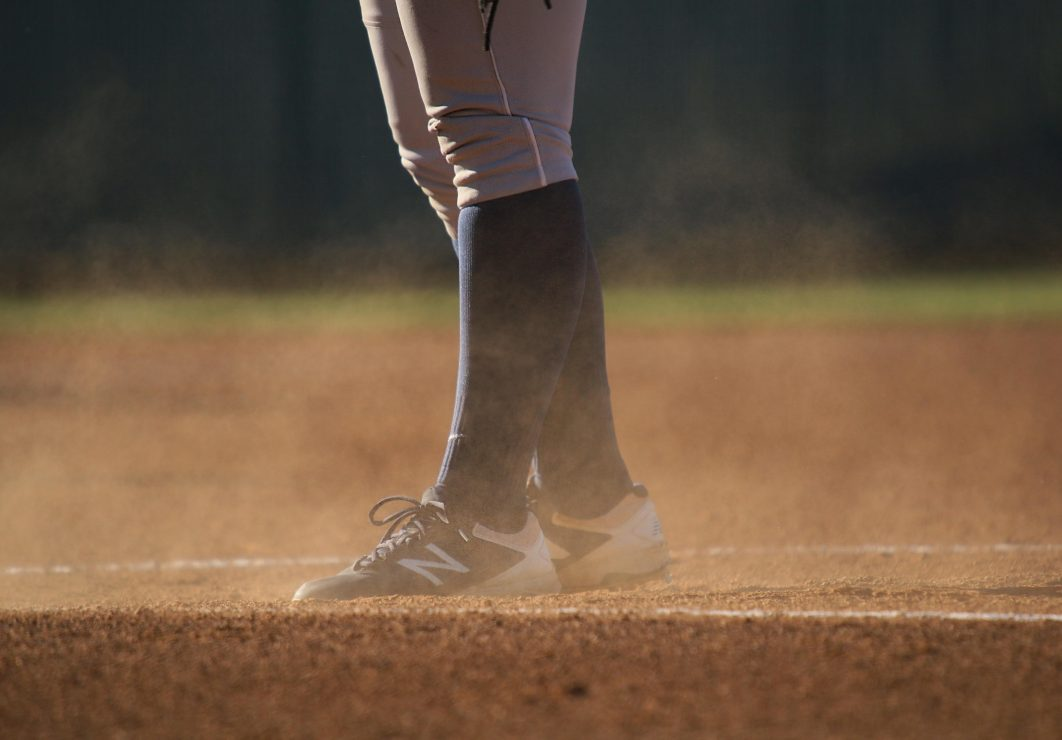 ARC softball team player on the field. (photo gallery by Lidiya Grib)