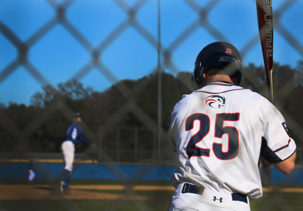 ARC batter Matt Clarke prepares to hit the ball.