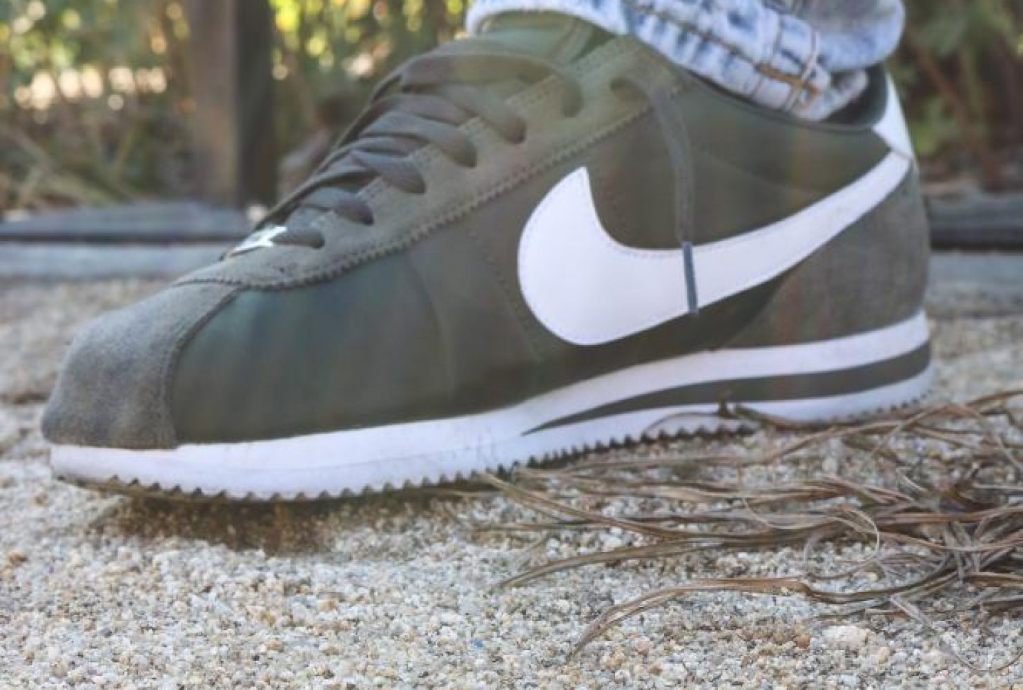 """My favorite pair, it would be these Cortezes, because you don't really see a lot of people wearing them, out here in Sac."" – Amos Taylor 