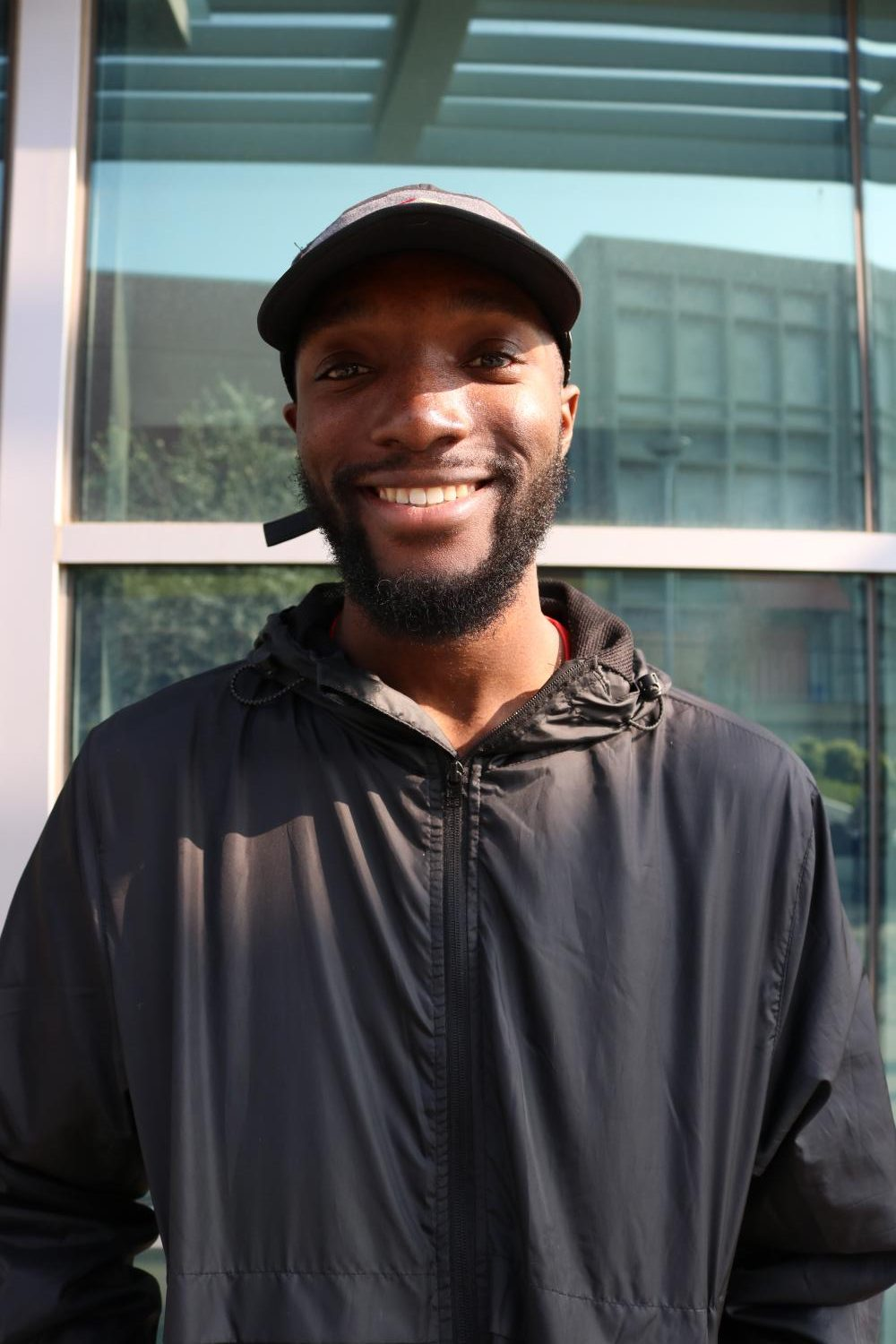 """Dr. Martin Luther King because he inspired me to be great, love all people, and too see the light even when things are difficult."" Latrell James 