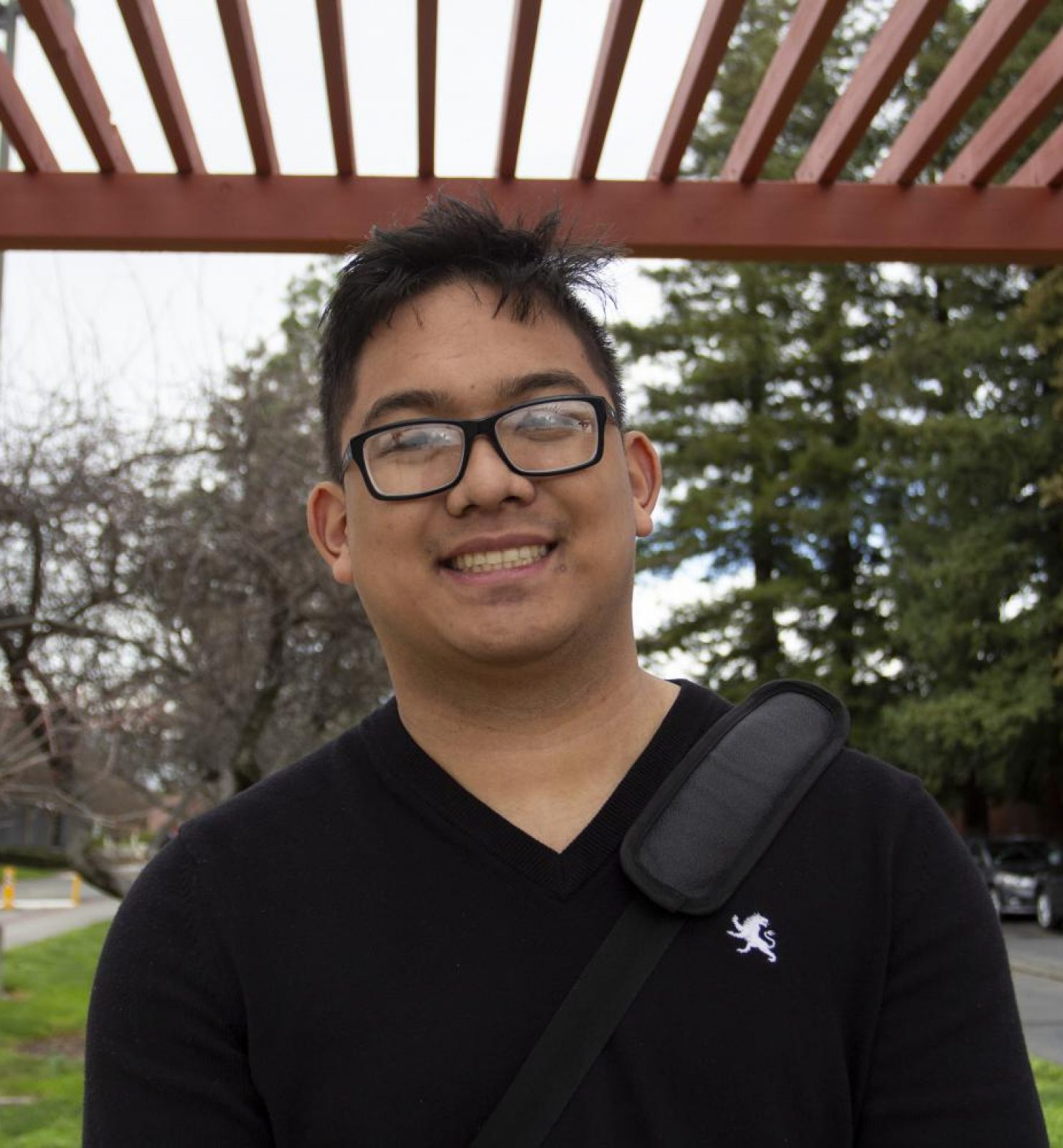 """""""The drive to learn new things in my classes because the new classes I'm taking are pretty interesting and I actually enjoy it. My morning routine usually consists of getting up, making coffee, trying to make breakfast and getting here right away to beat parking."""" – Austin Aninzo 