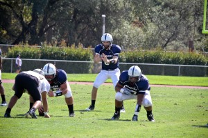 Quarterback Andy McAlindon leads ARC to a 51-9 win Sept. 21 at Beaver Stadium. (Photo by Andrew Vasquez)