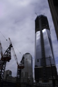 Ground zero being prepared for new construction in May of 2006. (Photo by Chuck Livingston)