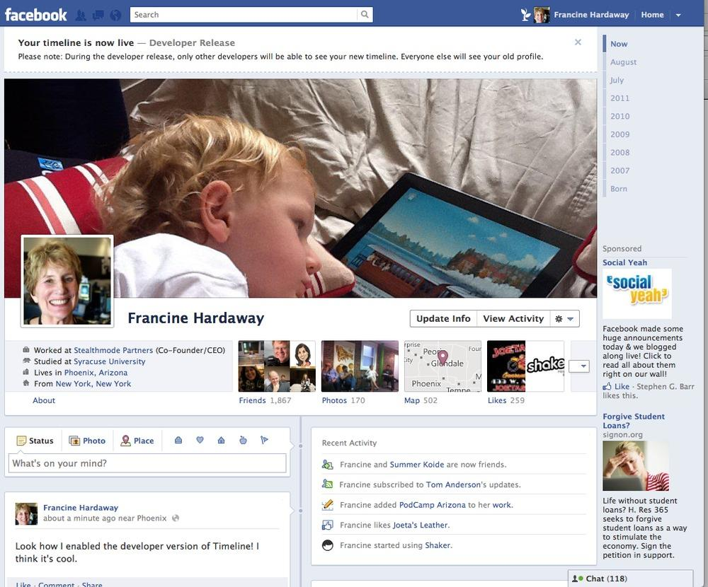 A+screen+grab+from+Facebook+shows+the+new+improvements+planned+by+CEO+and+co-founder+Mark+Zuckerberg.+The+updates+include+a+timeline%2C+ticker+and+more.+%28Photo+screen+grab+from+Facebook%29