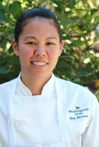 Alum Kim Floresca moves up in the cooking world with schooling as her base