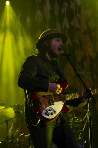 Wilco lead singer Jeff Tweedy performs on Feb. 1