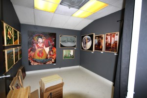 Mark Manning's studio at 2110 Sacramento Art Complex, located at 2110 K St. in Midtown Sacramento. (Photo by Stephanie Lee)
