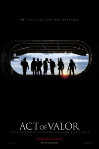 Navy SEALs it for 'Act of Valor'