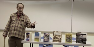Former professor Bob Bates returns to ARC to talk about America's national pastime