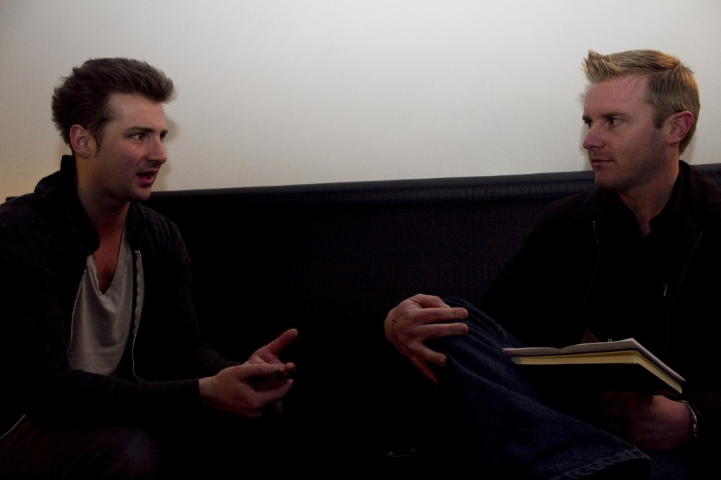 John Vesely, better known as Secondhand Serenade, sits down with ARCurrent.com's Mark Lewis.