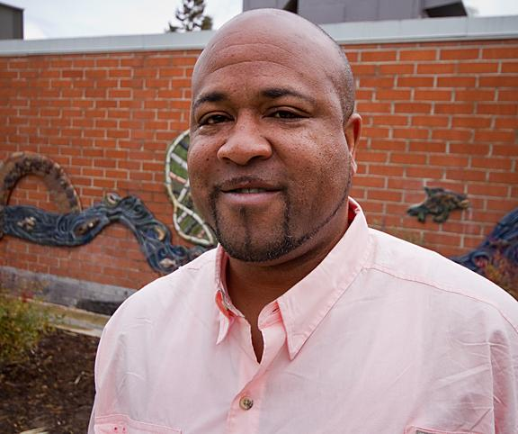 Jerry Mitchell, like many other ARC students over the age of 40, is looking for a fresh start. (Photo by Bryce Fraser)