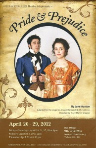 On stage romance sparks 'Pride and Prejudice'