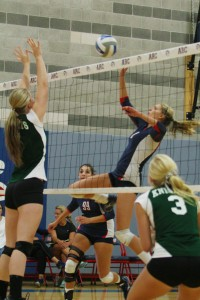 ARC dominates women's volleyball double header on Sept. 12