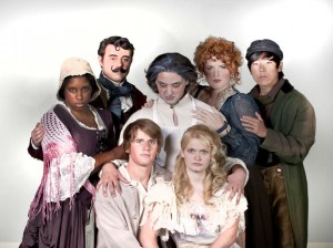 Cast members of the musical