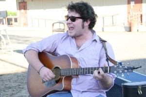 ARC student Mac Russ plays an acoustic cover of the Grateful Dead's