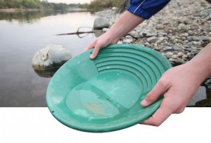 Panning for the precious metal found in Sacramento rivers increases in popularity. (Photo Illustration by Bryce Fraser)