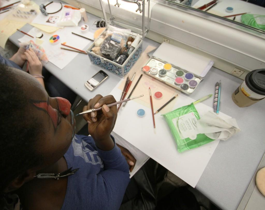 Take this class: TA 437 Stage Makeup