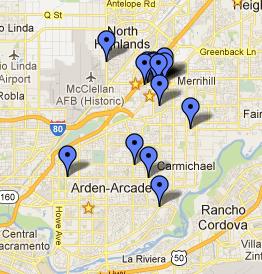 ARC Restaurant Map