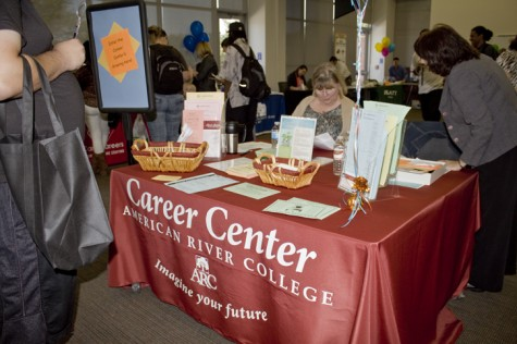 ARC prepares to host is semiannual Career Fair in the Student Center on Oct. 5, 2017. (File photo)