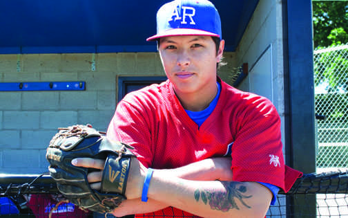 Baseball star copes with injury, loss and heartache on the field. (Photo by Jenn Schopfer)
